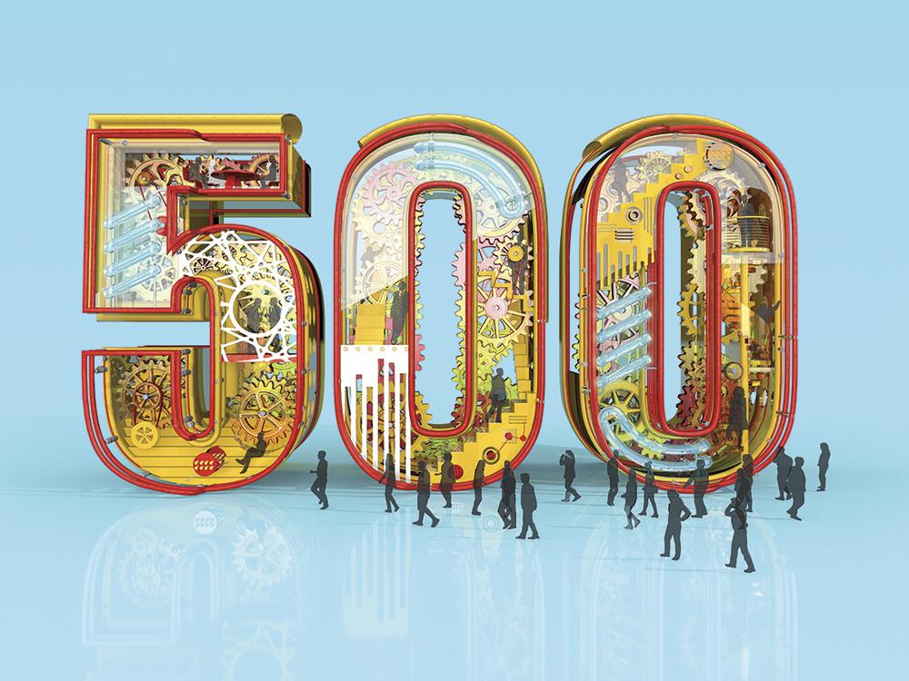 Top 500 latest